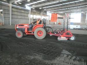 Levelling /Gradeing Commercial Floor